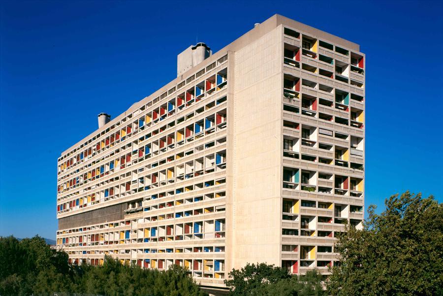 Unité d'habitation du Corbusier, Marseille